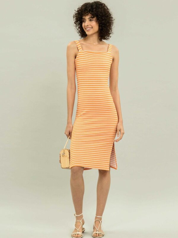 """Rhyming Orange"" Dress by Lez a Lez"