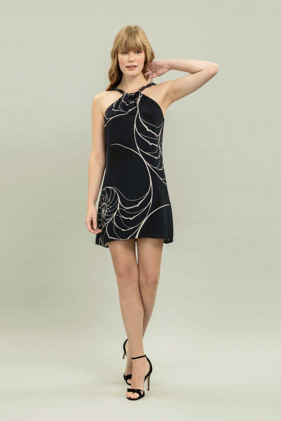 """""""Collecting Seashells"""" Dress by Lez a Lez"""