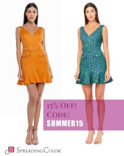 Two stunning dresses in two stunning colours ⭐💫😲 Pick your favourite with a 🧡 or 💚 in the comments below! 😉  Both available on our website: www.spreadingcolor.com . . . . . #damenoutfit #germanbloggerinspo  #bloggerin #blogger_de #fashionblogger_de #bloggerdeutschland #sommer2021 #ootdgermany #swissfashionblogger #lookdujour #prettylittleiiinspo #instafashionist #kleding #abendkleider #bloggeruk #ukblogger #whatiworetoday #kleiderliebe #damenmode #frauenmode #ukfashionblogger #ukfashionbloggers #frauenoutfits #modeblogger #sommeroutfits #bloggerde #outfitideen #howtowear #ootdtoday #minikleid