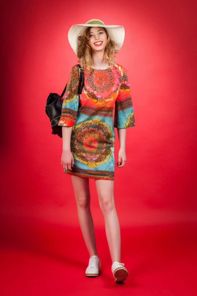 Spreading Color - Piu Piu Sunset Kiss Dress