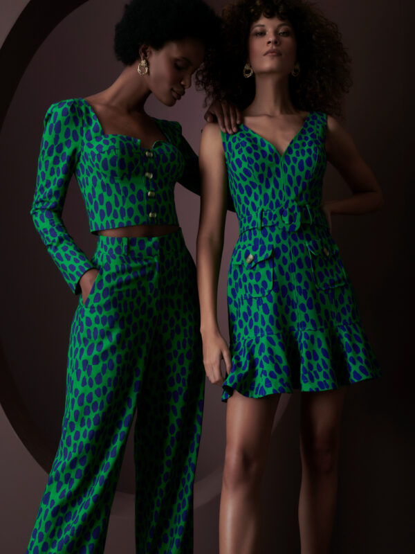 """Leopard Spotted"" Dress by Fedra"