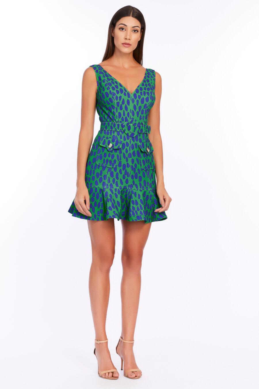 """Leopard Spotted"" Dress by Fedra"
