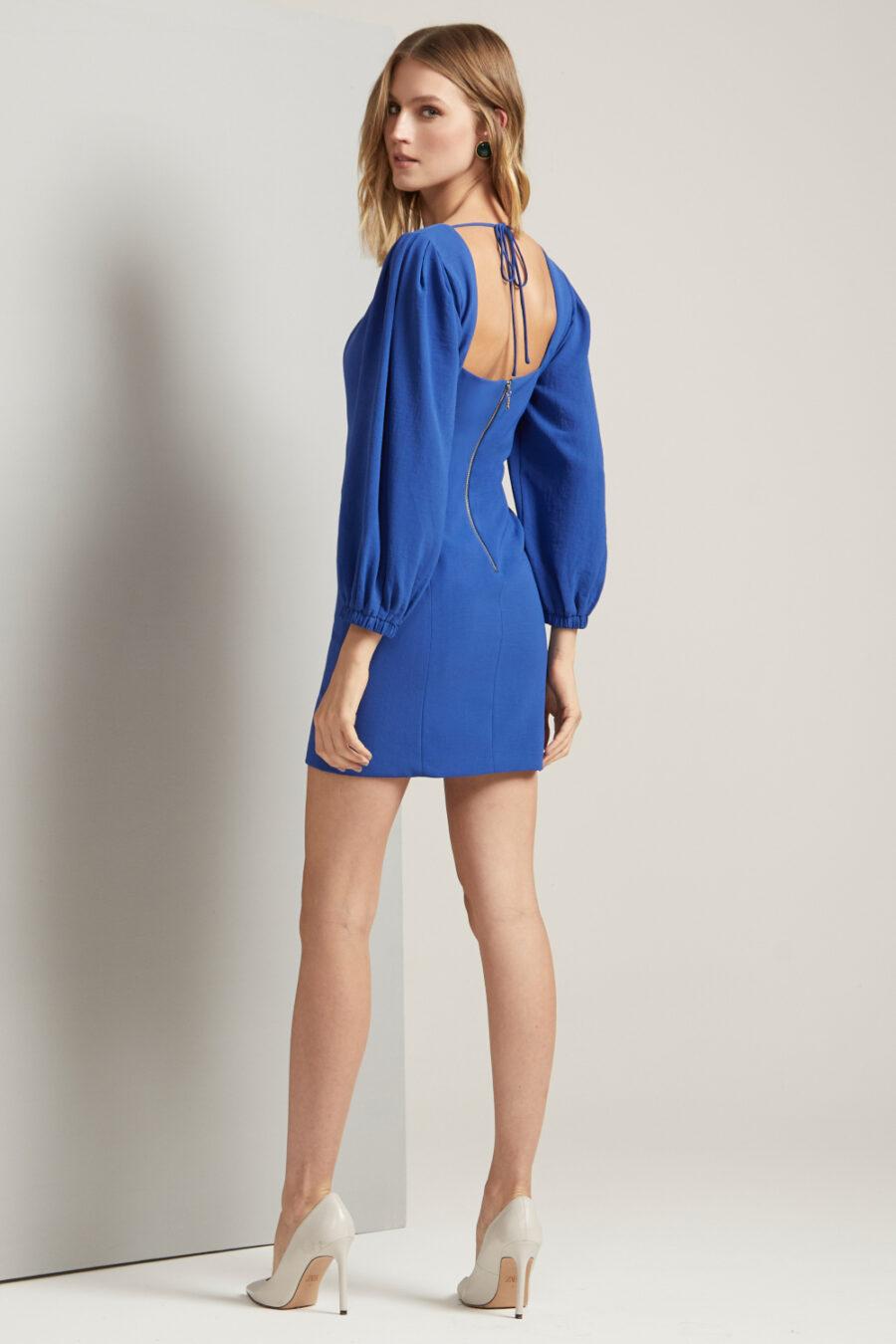 """Midnight City"" Mini Dress by Frutacor"