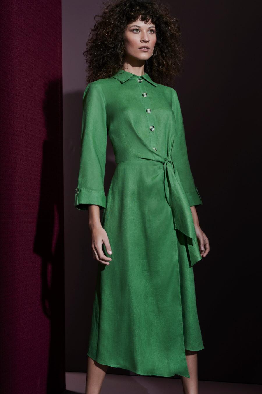 """Perfect Harmony"" Midi Dress by Fedra"